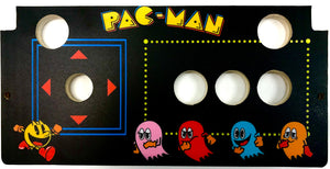 Skinned Pac-Man Replacement CPO Control Deck for Arcade1Up Countercade