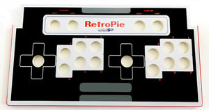 Skinned Old School Gaming Controller Replacement CPO Control Deck for Arcade1Up