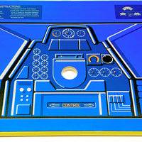 Skinned Space Invaders Replacement CPO Control Deck for Arcade1Up