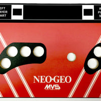 Skinned SNK Neo Geo 4 Button Replacement CPO Control Deck for Arcade1Up