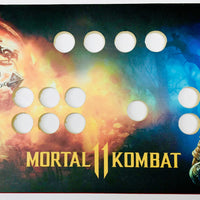 Skinned Mortal Kombat 11 Replacement CPO Control Deck for Arcade1Up