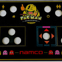 Skinned Namco Pac Man Replacement CPO Control Deck for Arcade1Up