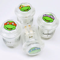 LED 12V White Teenage Mutant Ninja Turtles Buttons