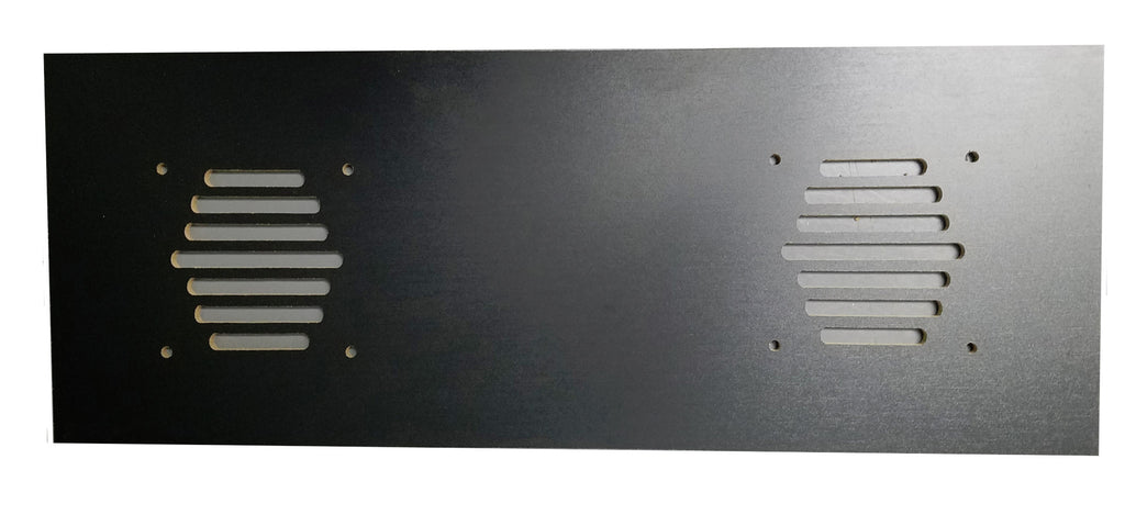 Speaker Grill Panel For Arcade1Up For Two 4 Inch Speakers