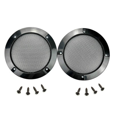 One Pair 4.88 Inch Arcade Speaker Grill With Screws