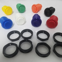 One Piece Design 28mm Concave Buttons Switch For Arcade1Up
