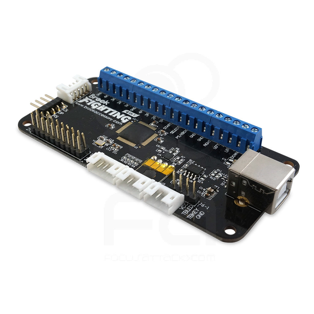 Brook Universal Fighting Board With Headers supports Xbox One, Xbox 360, PS4, PS3, Wii U PC, Switch,  NEOGEO mini, PS Classic
