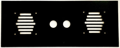 Speaker Grill Panel For Arcade1Up For Two 4 Inch Speakers With 2 Extra Holes