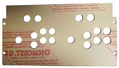 Replacement Plexiglass For Arcade1Up Control Deck With 2 Extra Buttons