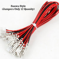 Zero Delay USB Encoder Jumper Wires Terminals Size 0.110 (2.8mm) Compatible With Sanwa Style