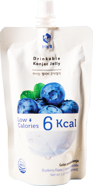 Jelly B. Konjac Drink Blueberry Flavor - Pacific Noodle Company