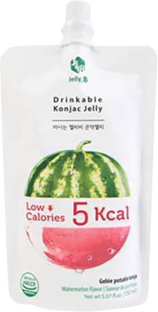 Jelly B. Konjac Drink Watermelon Flavor - Pacific Noodle Company