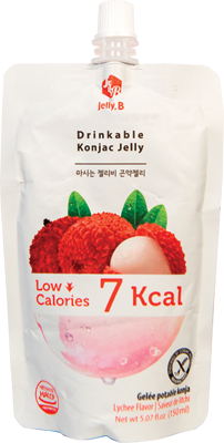 Jelly B. Konjac Drink Lychee Flavor - Pacific Noodle Company