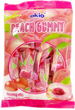 Okio Peach Gummy Candy - Pacific Noodle Company