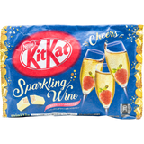 Japanese Kit Kat Sparkling Wine with Strawberry