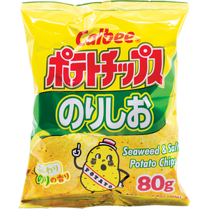 Calbee Seaweed Potato Chips - Pacific Noodle Company