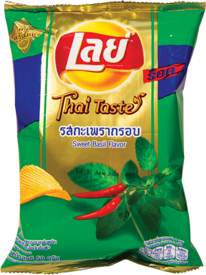 Lay's Sweet Basil Potato Chips - Pacific Noodle Company