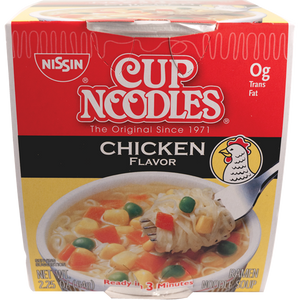 Nissin Cup Noodle Chicken - Pacific Noodle Company