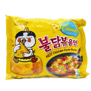 Samyang Instant Noodle Spicy Chicken Cheese - Pacific Noodle Company