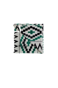 Tribal Zebra Pocket Square