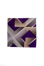 Load image into Gallery viewer, Purple Trees Pocket Square
