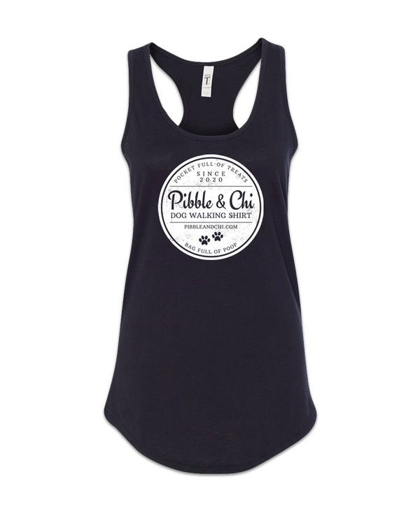 Dog Walking | 60/40 | Racerback Tank