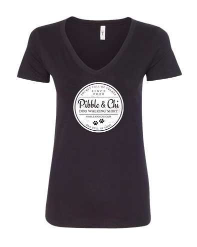 Dog Walking | 60/40 | Women's V-Neck