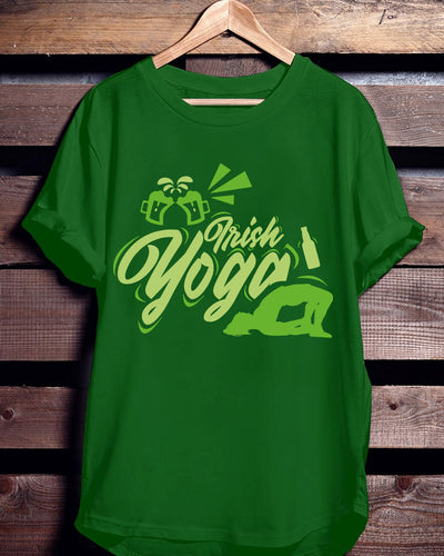 Irish Yoga St Patrick's Day Shirts - Bewished Online clothing shop