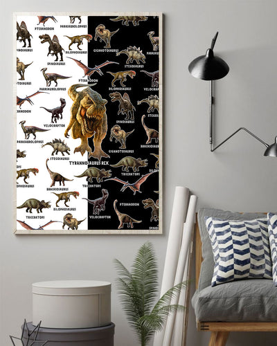Love Dinosaurs Poster - Bewished Online clothing shop