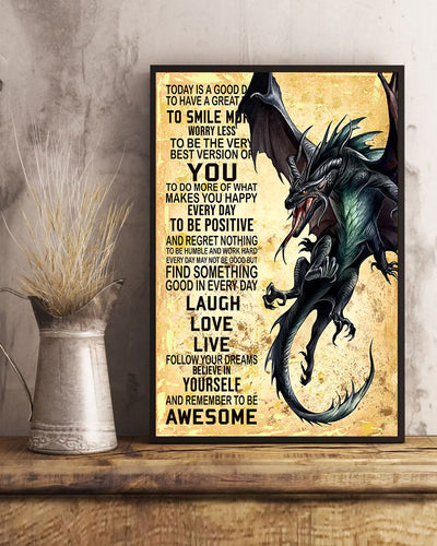 Love Dragon Poster - Bewished Online clothing shop