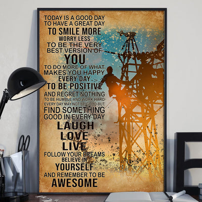 Beautiful Electrician Poster - Bewished Online clothing shop