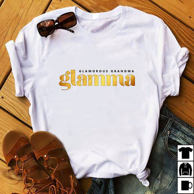 Glamma - Glamourous Grandma Shirts - Bewished Online clothing shop