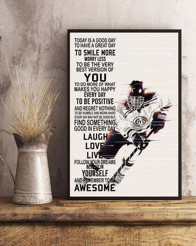 Beautiful Hockey Poster - Bewished Online clothing shop