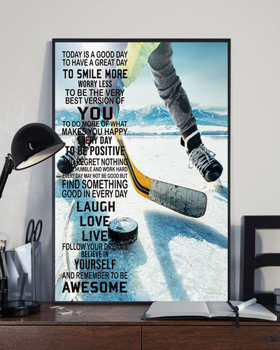 Love Hockey Poster - Bewished Online clothing shop