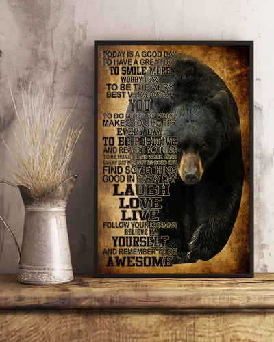 Love Bear Art Poster - Bewished Online clothing shop