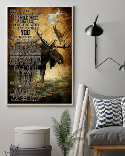 Love Moose Poster - Bewished Online clothing shop