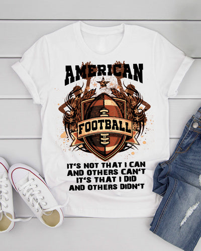 American Football Player I Can I Did Shirts - Bewished Online clothing shop