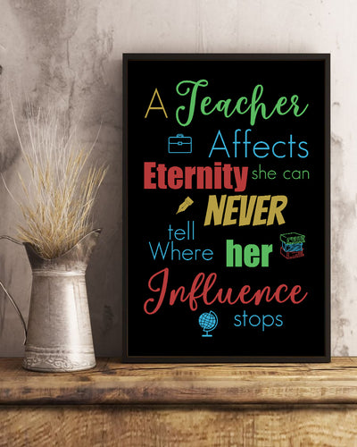 Amazing Teacher Best Quotes Poster - Bewished Online clothing shop
