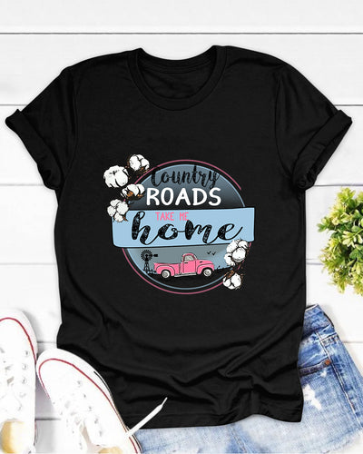 Country Road Take Me Home Shirts - Bewished Online clothing shop
