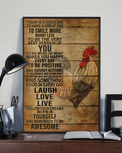 Farm To Table Organic Poultry Poster - Bewished Online clothing shop