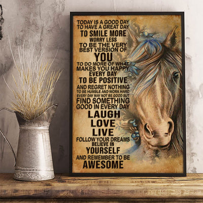 Beautiful Horse Art Poster - Bewished Online clothing shop