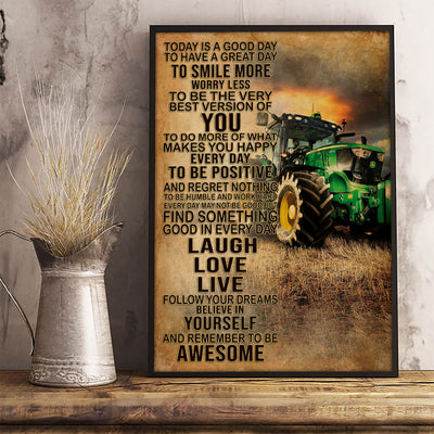 I'm A Farmer Poster - Bewished Online clothing shop