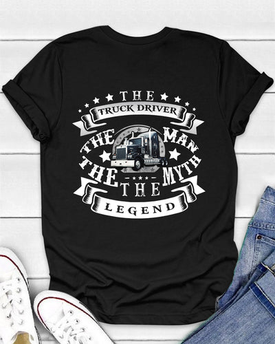 The Truck Driver The Man The Myth The Legend Shirts - Bewished Online clothing shop