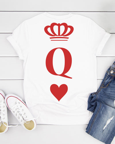 Poker Queen Shirts - Bewished Online clothing shop