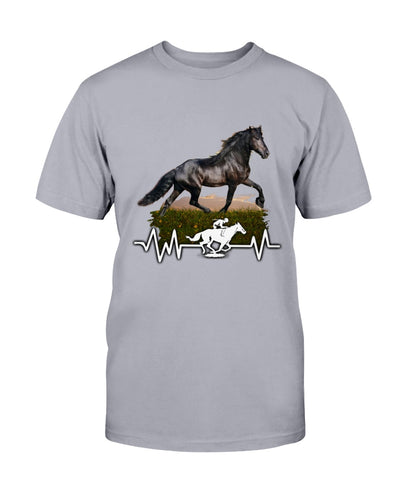 Black Beautiful Horse Shirts - Bewished Online clothing shop