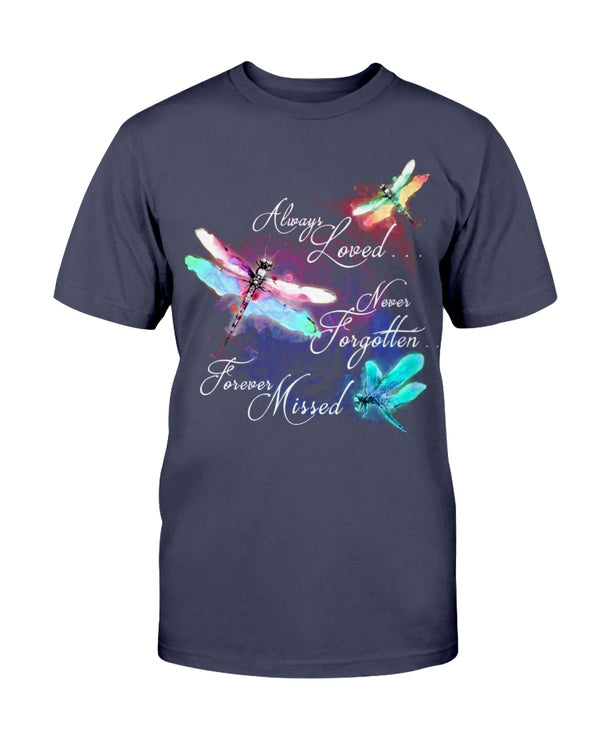 Always Loved Never Forgotten Forever Missed Shirts - Bewished Online clothing shop