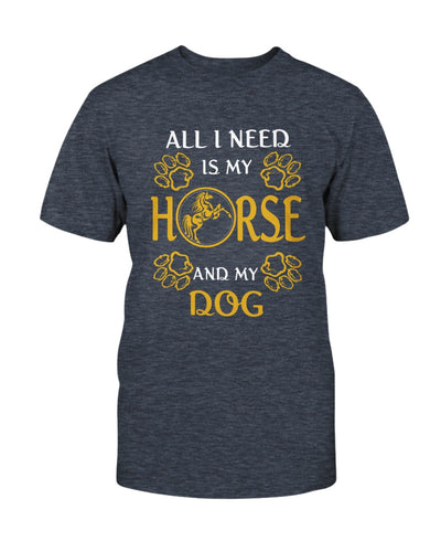 All I Need Is My Horse And My Dog Shirts - Bewished Online clothing shop