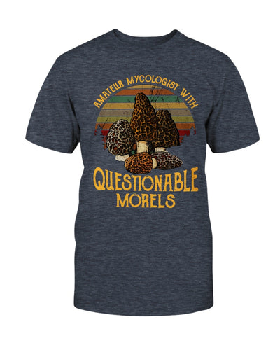 Amateur Mycologist With Questionable Morels Shirts - Bewished Online clothing shop