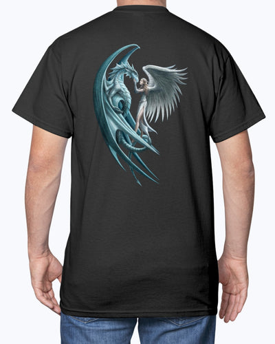 Dragon & Girl I'm Really A Dragon Shirts - Bewished Online clothing shop