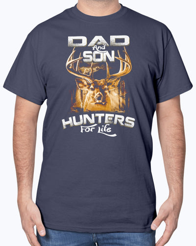 Dad And Son Hunters For Life Shirts - Bewished Online clothing shop